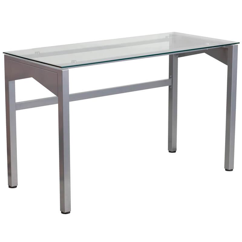 glass frame desk