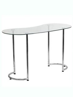glass shape desk 237x315