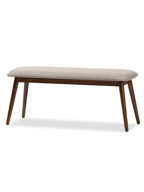 mid century fabric bench 461x614