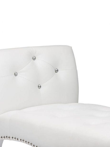 nailhead tufted white leather bench 5 461x614