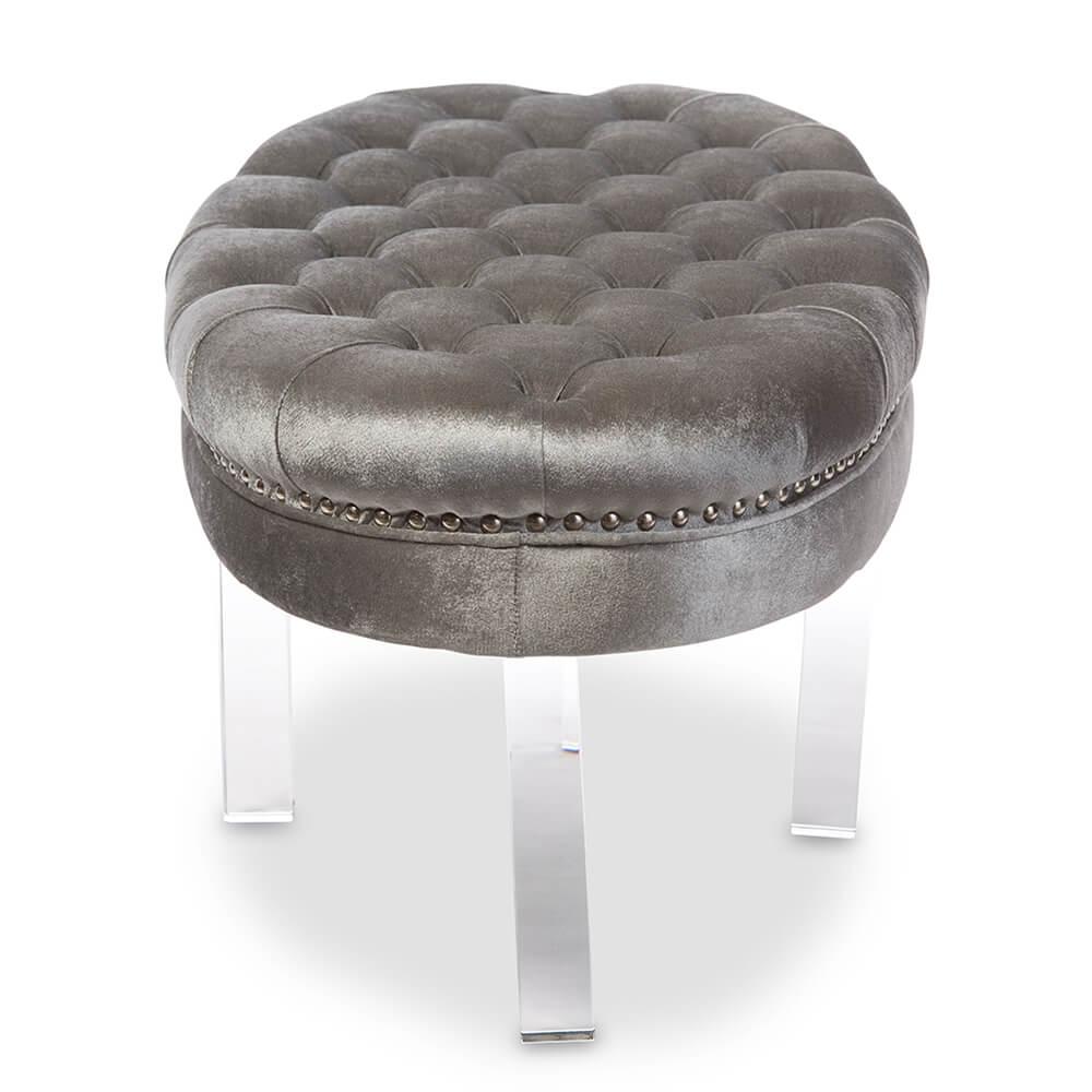nouveau gray acrylic bench 3