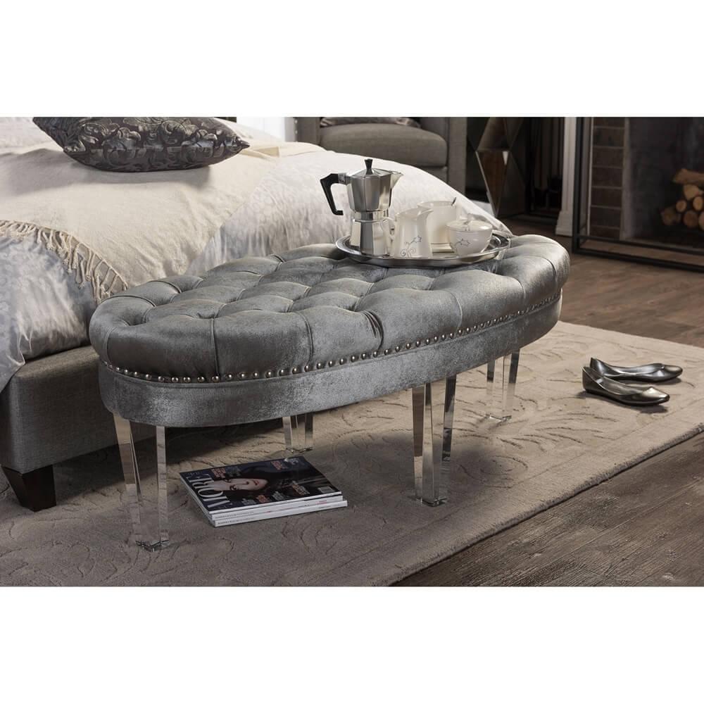 nouveau gray acrylic bench 4