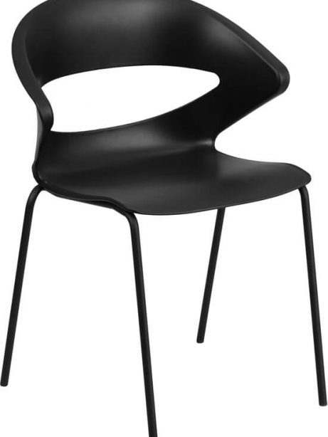 plastic chair with curved chair 461x614
