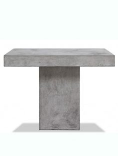 sqaure concrete dining table 237x315