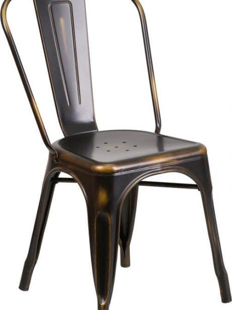 tonic distressed copper metal indoor stackable chair 3 461x614