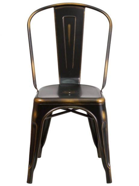 tonic distressed copper metal indoor stackable chair 4 461x614