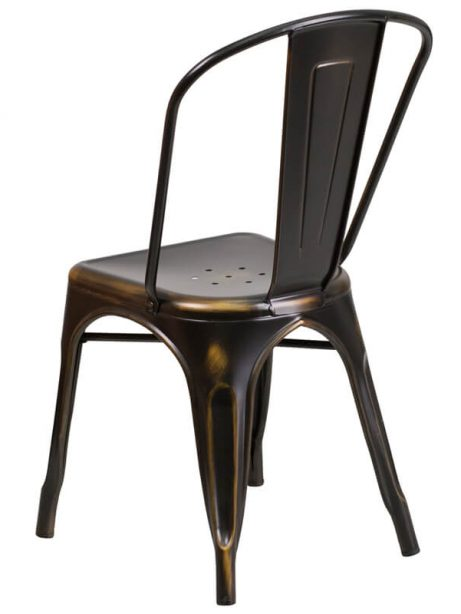 tonic distressed copper metal indoor stackable chair 461x614