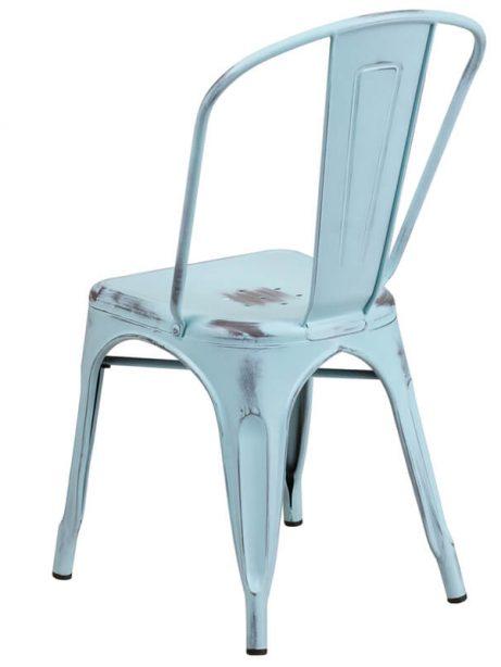 tonic distressed light blue metal indoor stackable chair 2 461x614