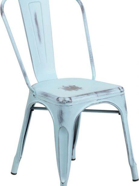 tonic distressed light blue metal indoor stackable chair 3 461x614