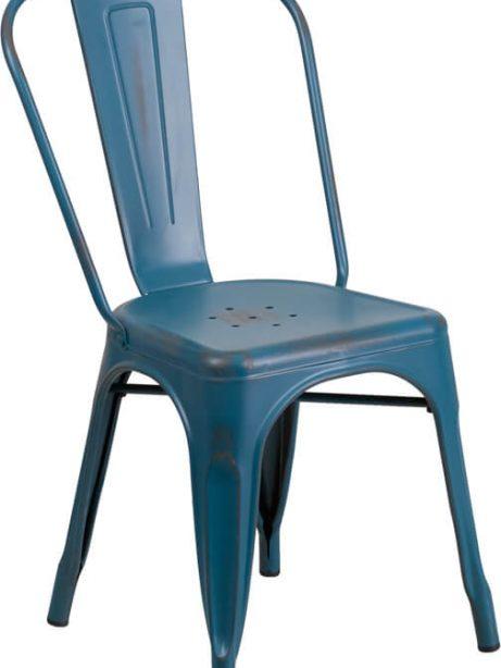 tonic distressed navy blue metal indoor stackable chair 4 461x614