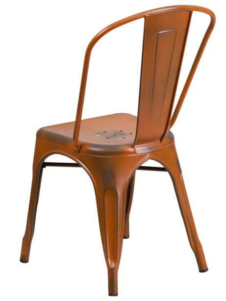 tonic distressed orange metal indoor stackable chair 4 461x614