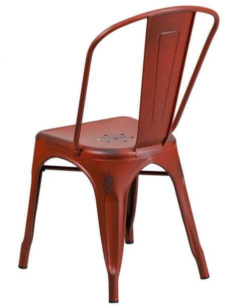tonic distressed red metal indoor stackable chair 461x614