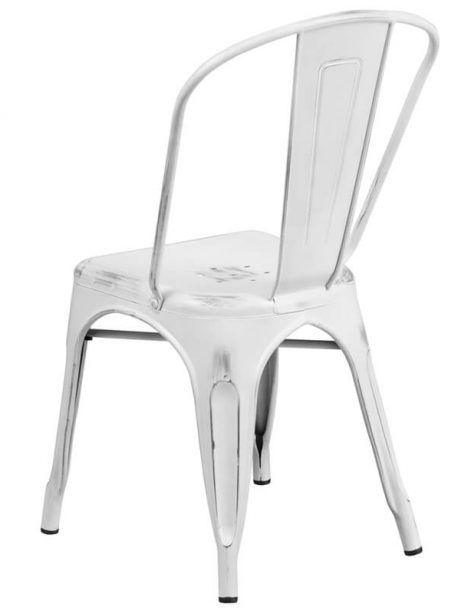 tonic distressed white metal indoor stackable chair 2 461x614