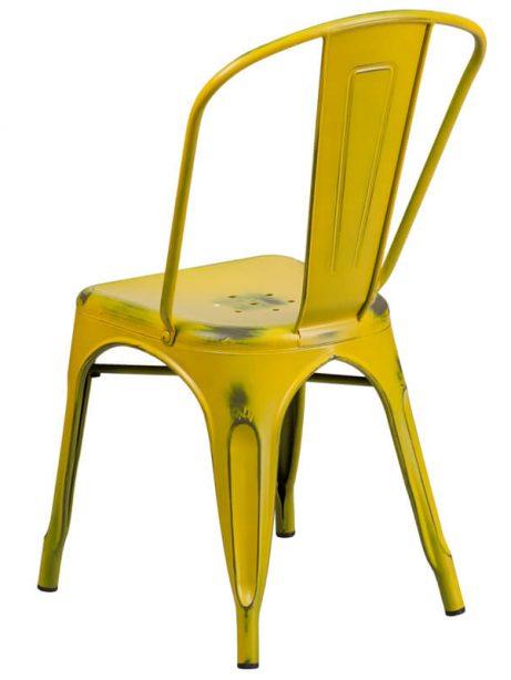 tonic distressed yellow metal indoor stackable chair 4 461x614
