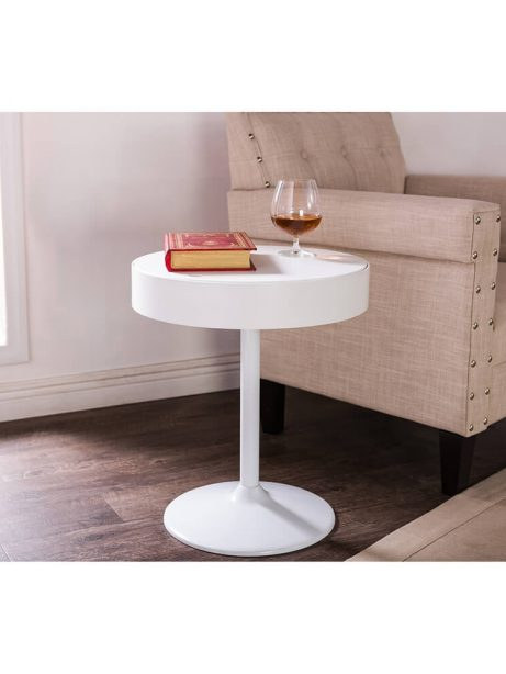 tulip swivel end table 461x614