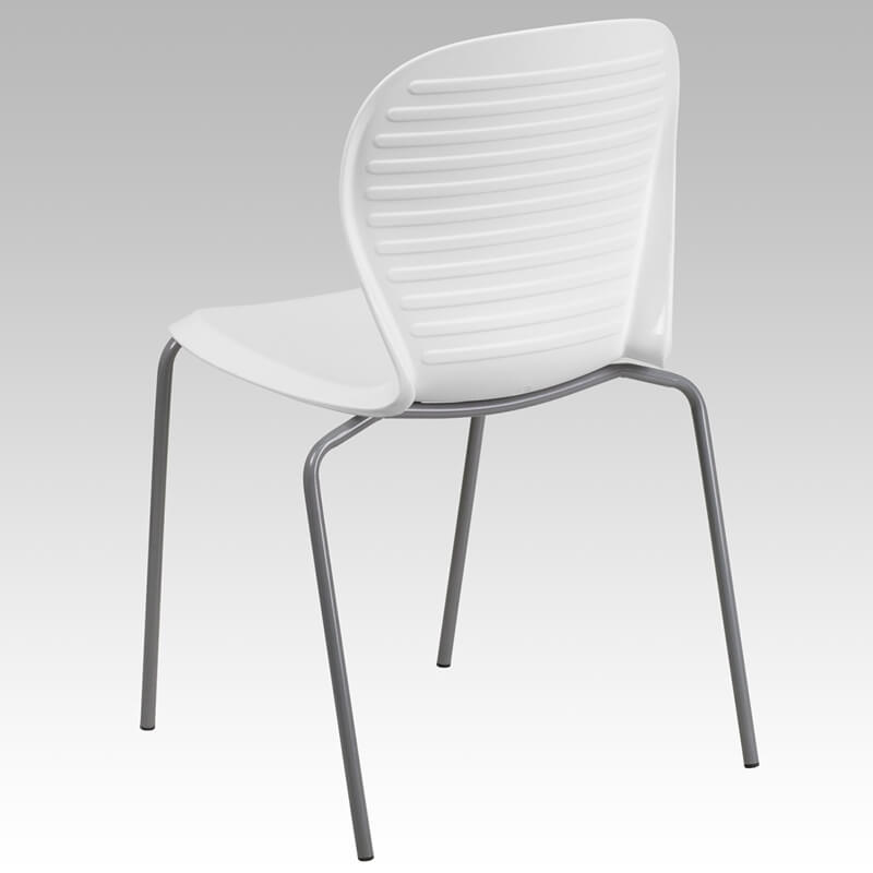 wave chair white