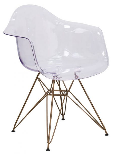 Ceremony Clear Gold Wire Armchair 1 461x614