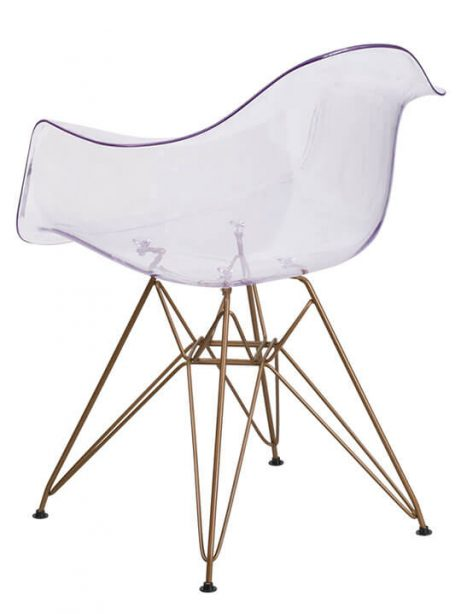 Ceremony Clear Gold Wire Armchair 2 461x614
