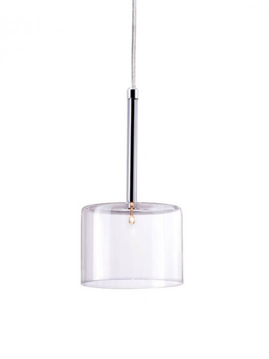 Clear Glass Modern Pendant Light