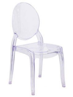 Clear Side Chair 237x315