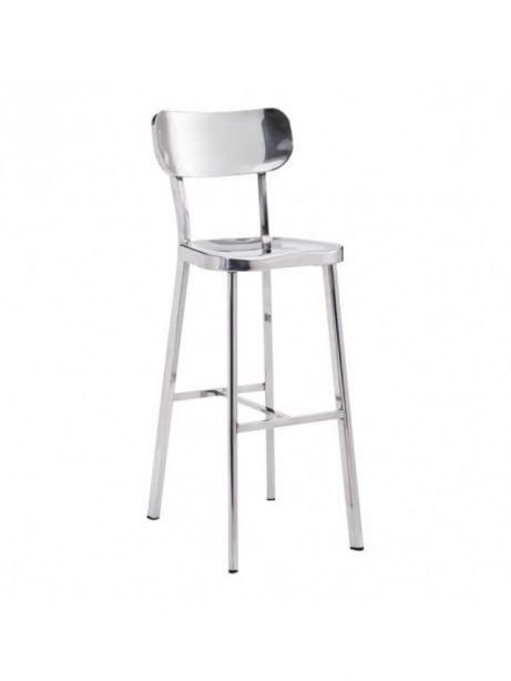 Metallic Chrome Barstool 4 461x614