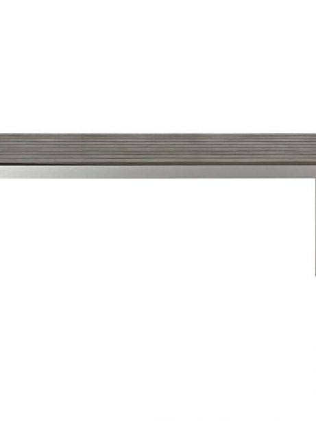 Modern Outdoor Aluminum Wood Dining Table 2 461x614
