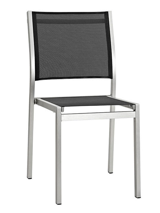 Modern outdoor aluminum chair