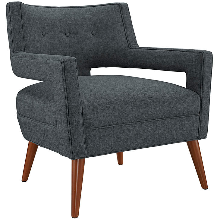 Regent Armchair Dark Grey