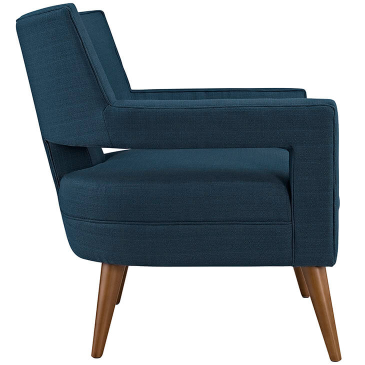 Regent Armchair Navy Blue 2