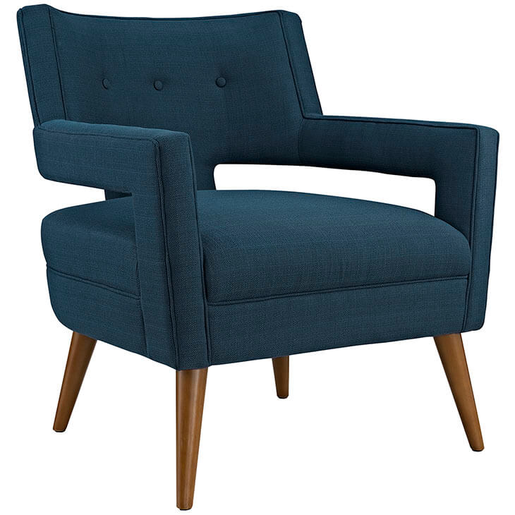 Regent Armchair Navy Blue