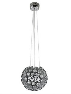 Silver Circa Pendant Light 237x315