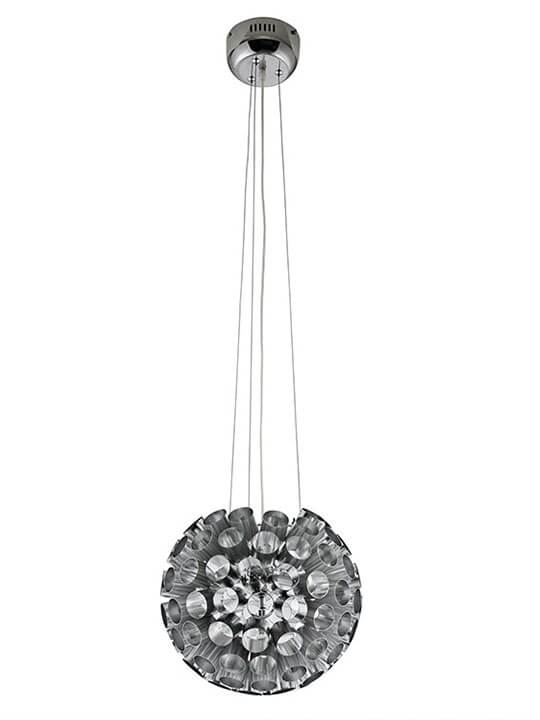 Silver Circa Pendant Light