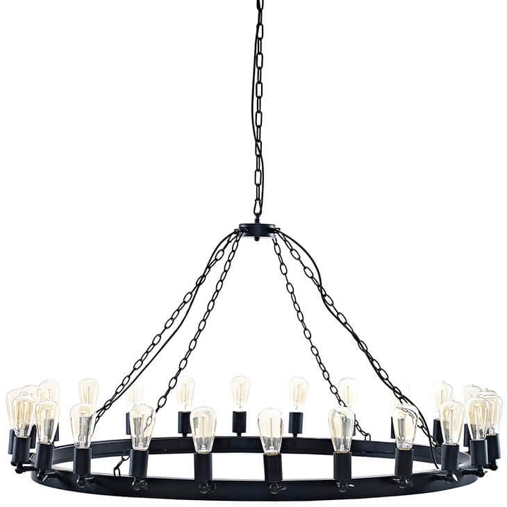 edison bulb chandelier large 2