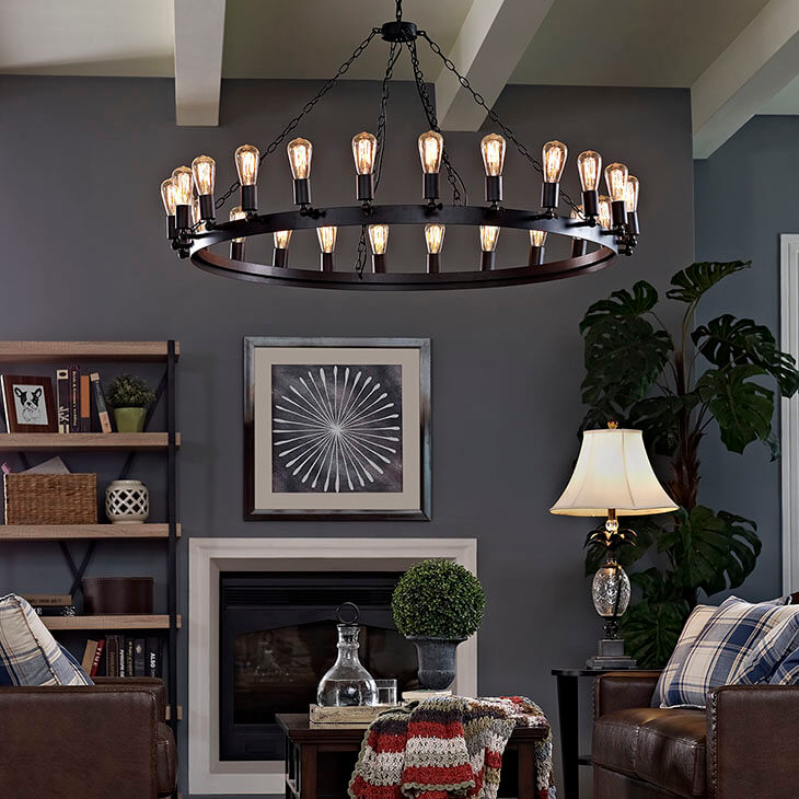 edison bulb chandelier large 4