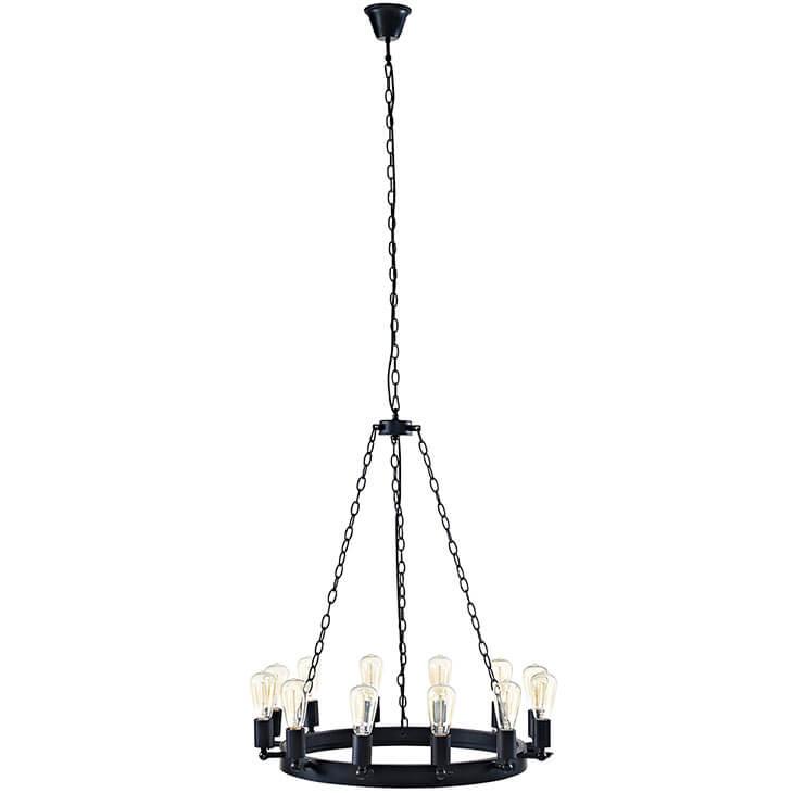 edison bulb chandelier small 1