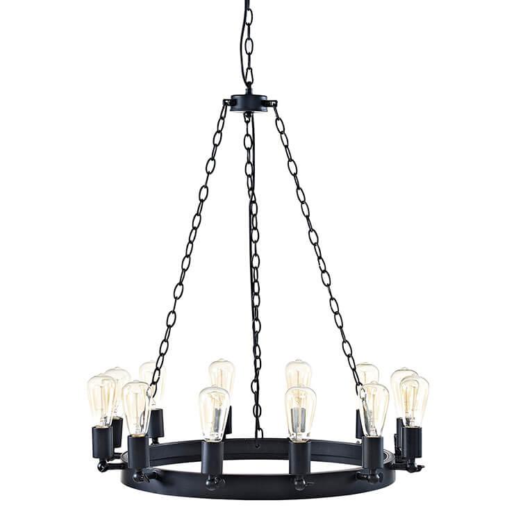 edison bulb chandelier small
