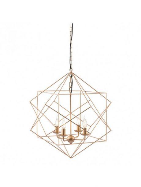 gold wire geometric pendant 461x614