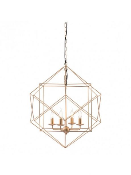 gold wire geometric pendant lighting 461x614