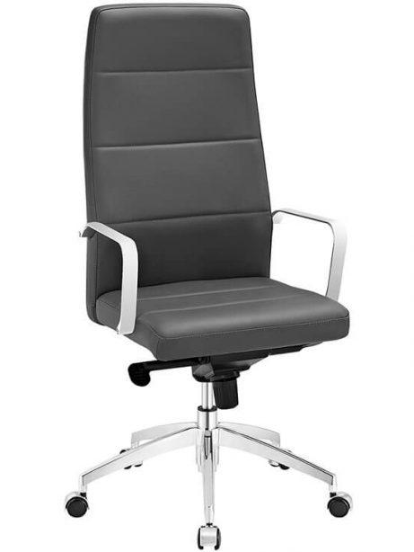grey highback office chair 461x614