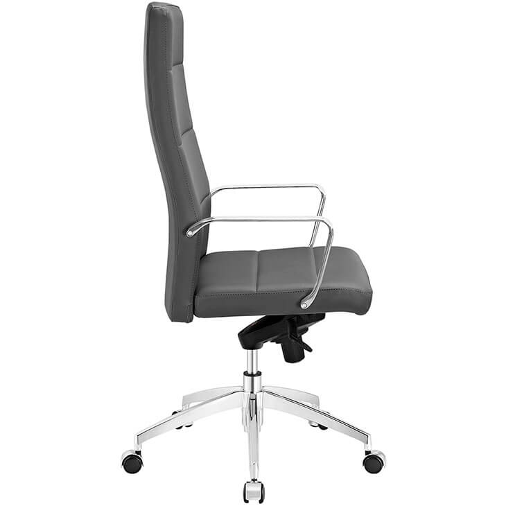 grey modern office chair