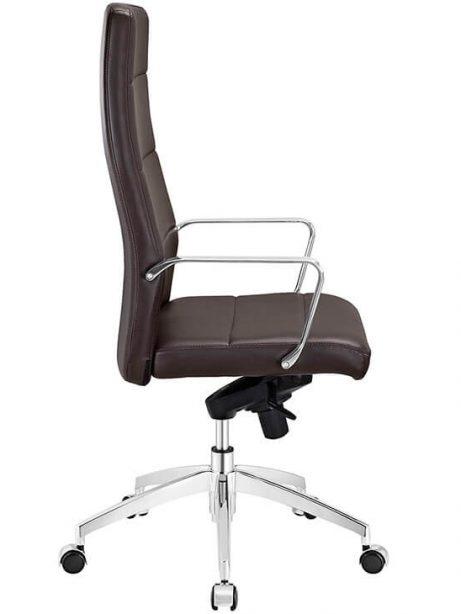 highback brown office chair 461x614