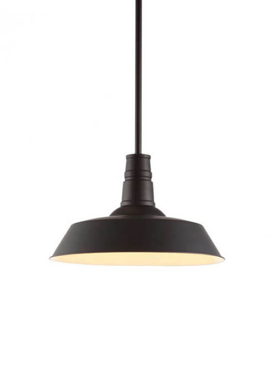 industrial vintage metal pendant light