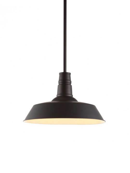 industrial vintage metal pendant light