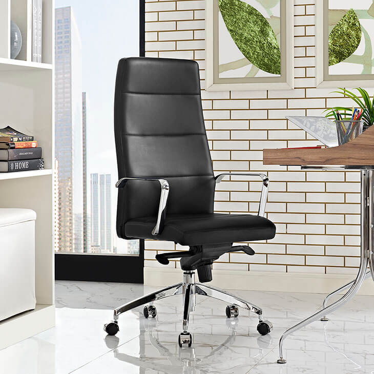 instant equity office chair black 4