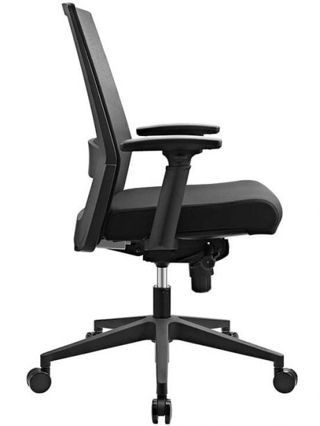 mesh office chair black 461x614