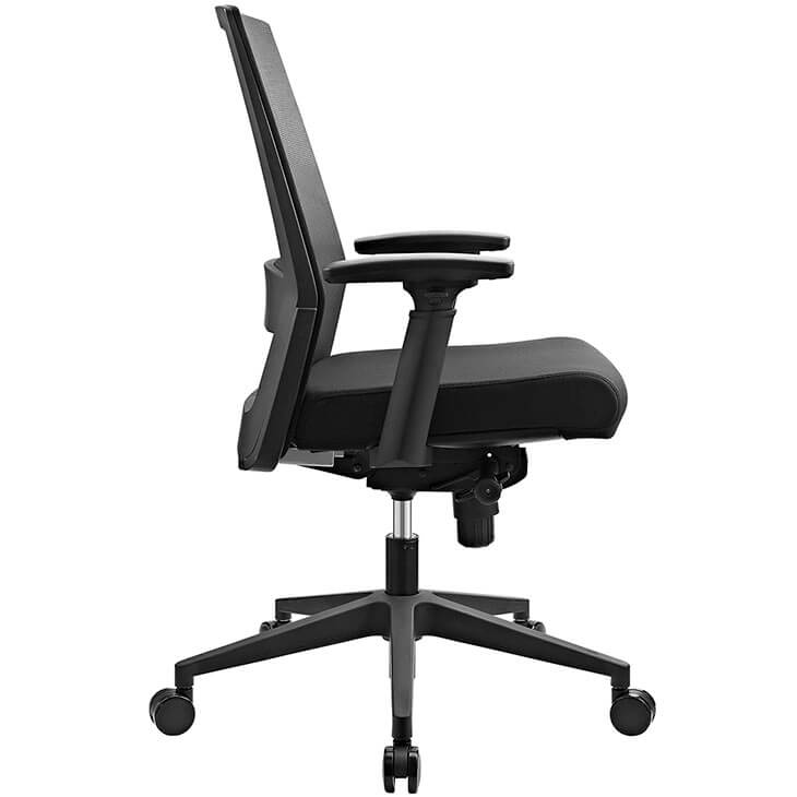 mesh office chair black