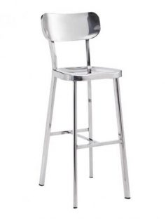 metallic chrome barstool 237x315
