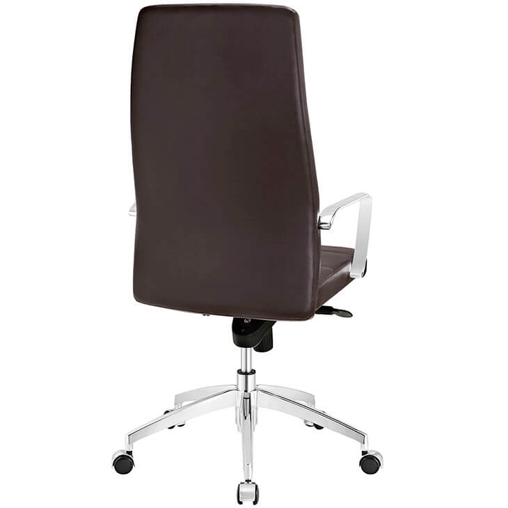 modern brown office chair