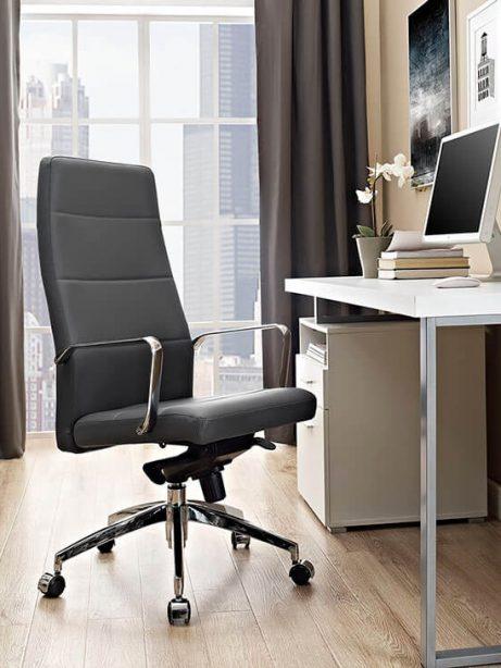 modern grey office chair 461x614