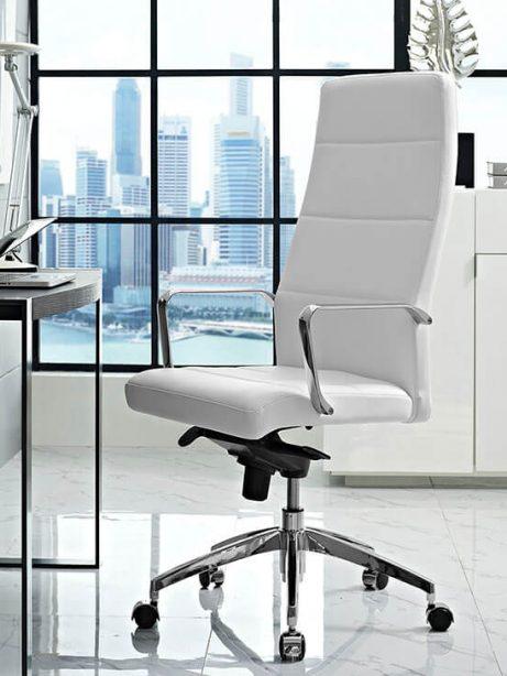modern white office chair 461x614